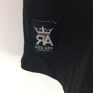 Red Ape Shirts - RED APE   t shirt embroidered shirt sleeve 2XL